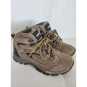 Hi-Tec hiking 6.5 Brown Suede Leather Women's